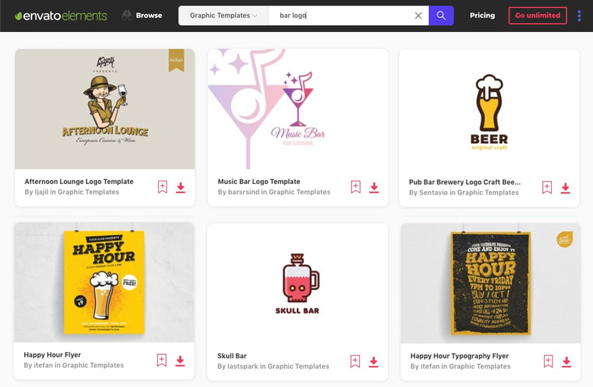 19+ Best Bar (& Night Club) Logo Design Ideas (Inspiration