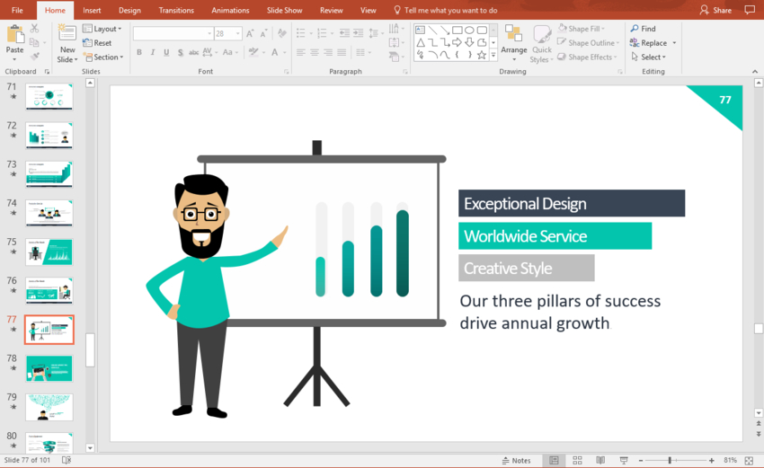 How to Edit PowerPoint (PPT) Slide Template Layouts - Quickly