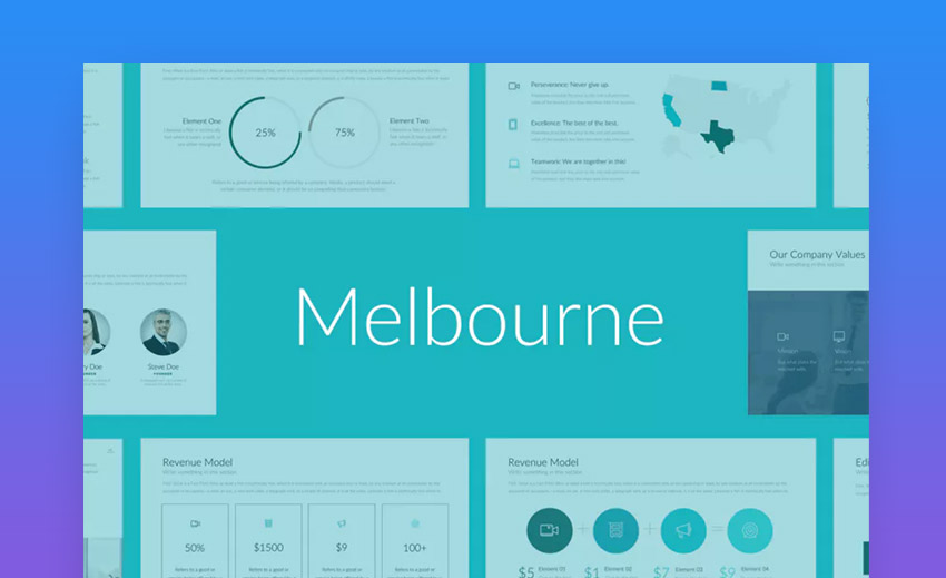 Melbourne Professional Template