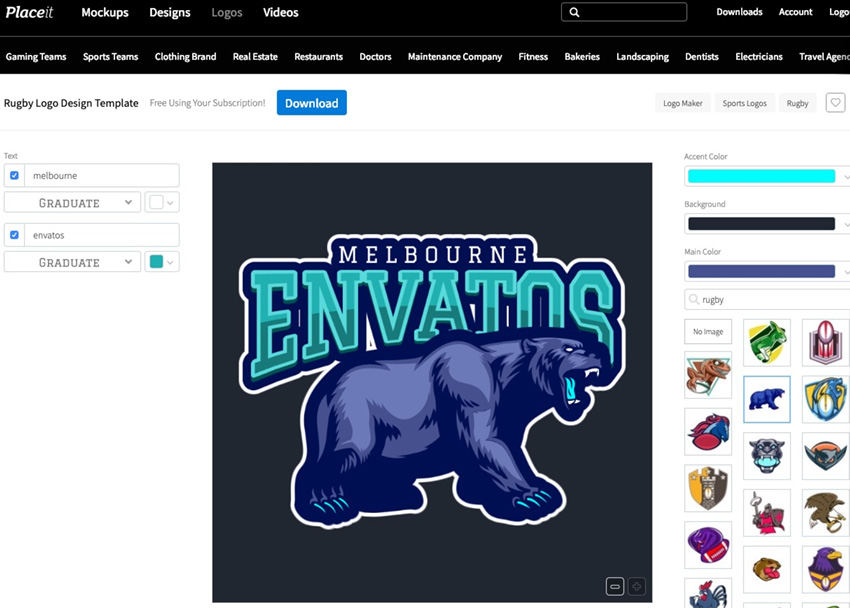 Team specifics logo