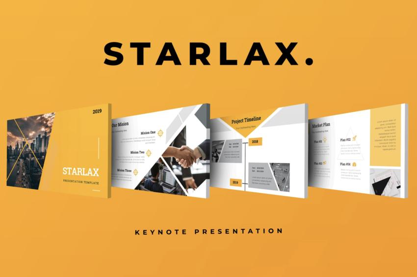 Starlax Keynote Presentation