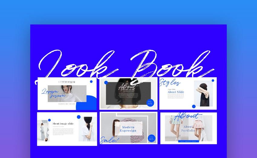 Look Book Keynote template