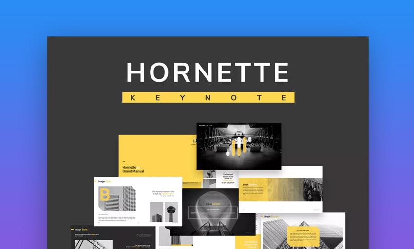 Hornette Keynote Template