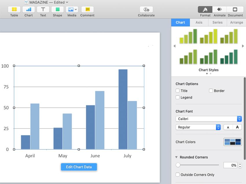 Customize slide design