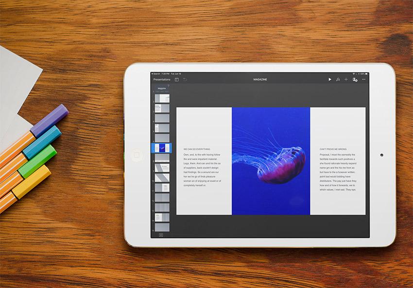 Keynote iPad