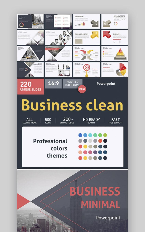 Business Clean PowerPoint Presentation