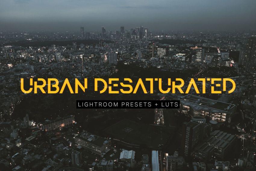 Urban Desaturated Luts