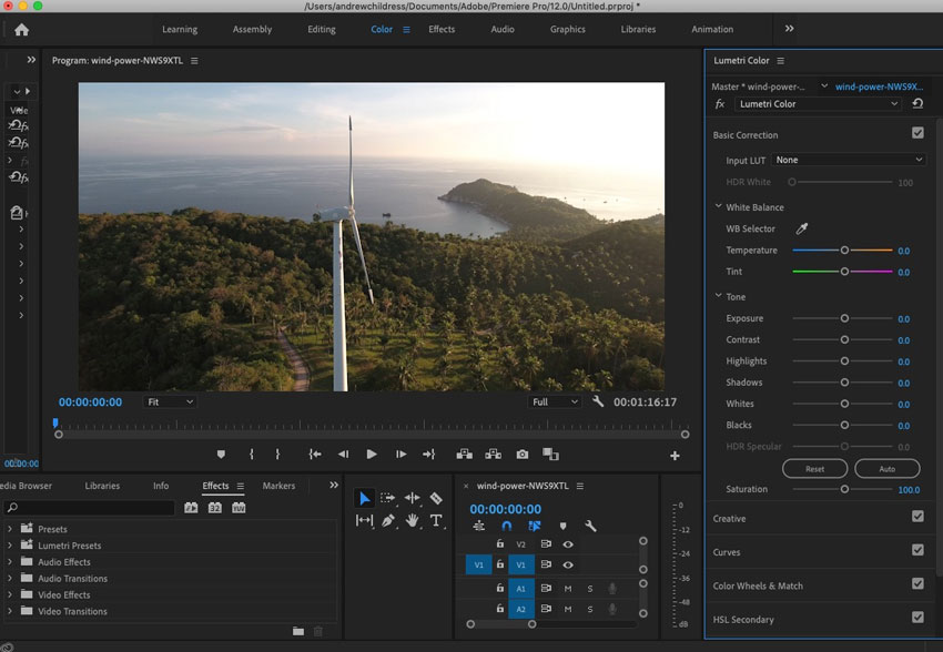 How to Color Grade Video Quickly (With Presets) in Premiere Pro