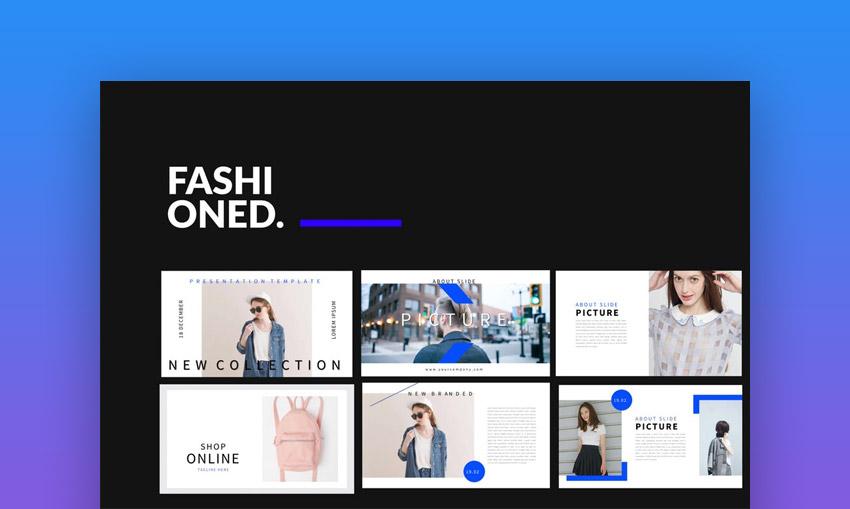 Fashioned stylist PowerPoint