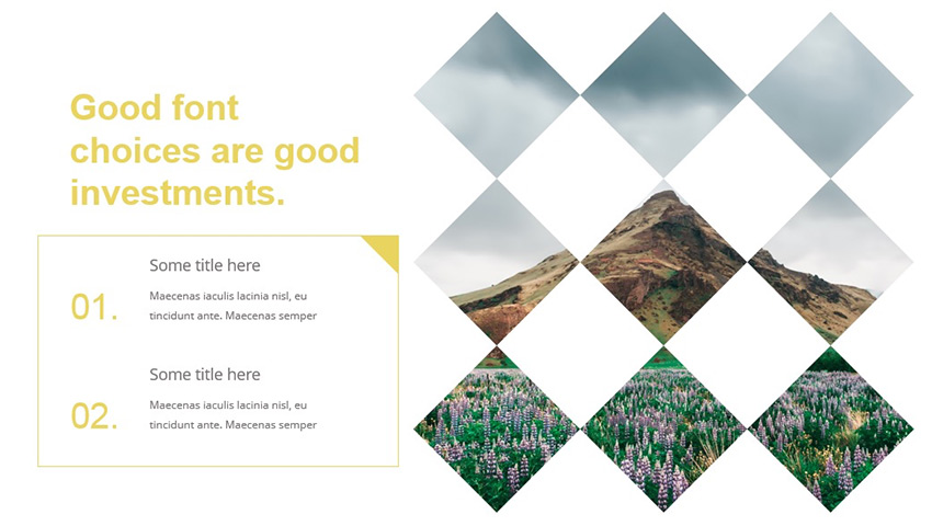 Good font for PowerPoint presentation