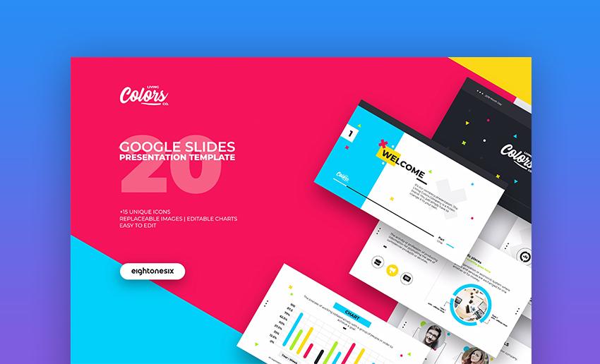 Colors Google Slides Cute Slideshow