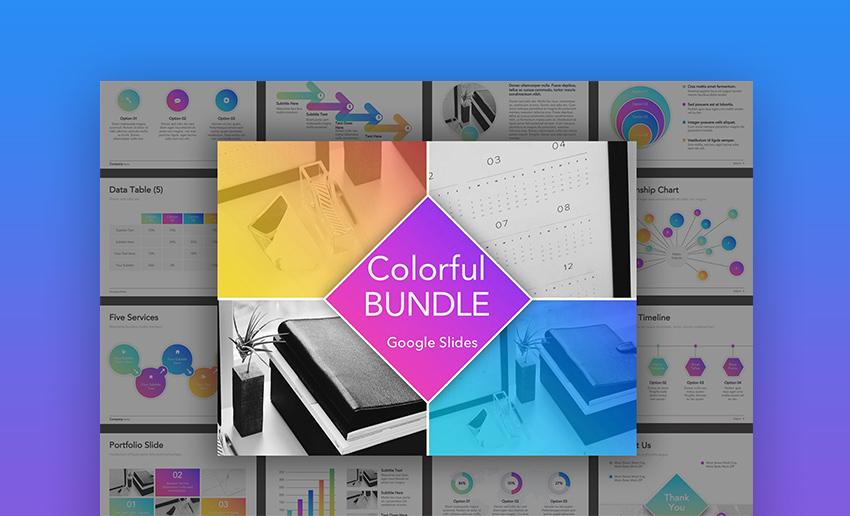 Colorful Bundle Cute Presentation Themes