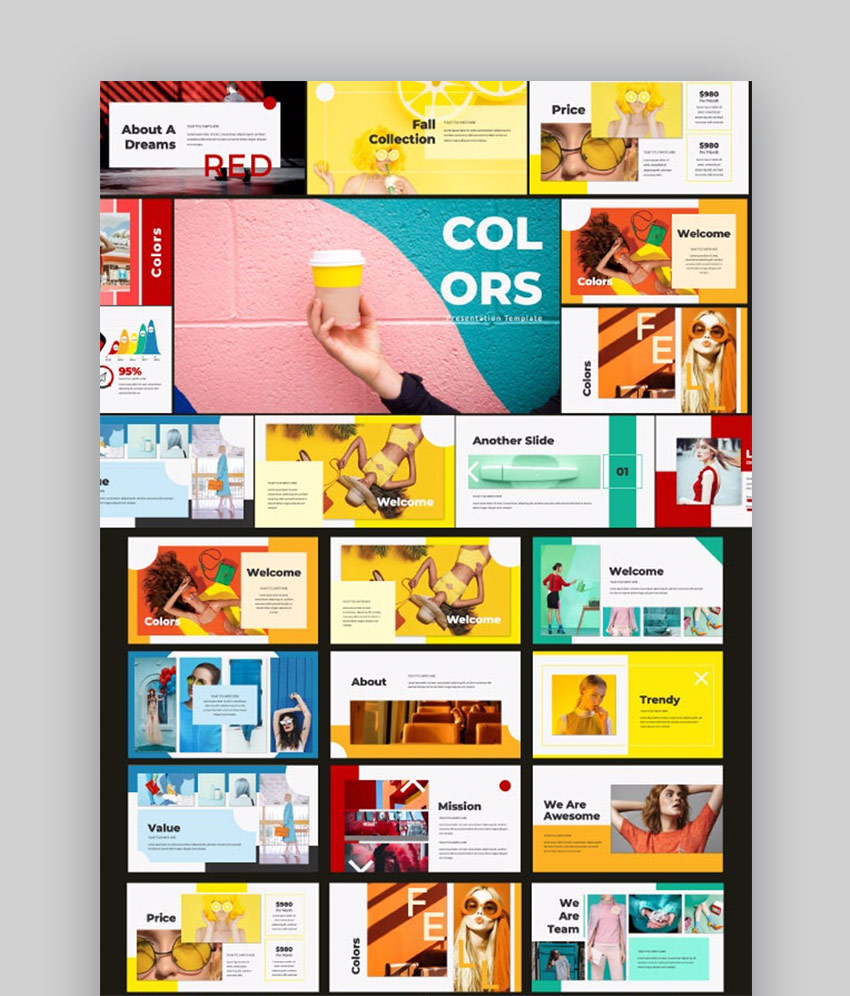 GraphicRiver Colors Colorful Slides