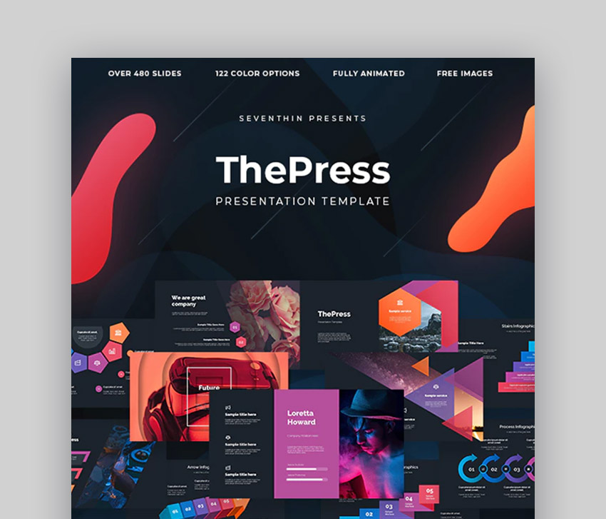 ThePress Business Presentation PPT