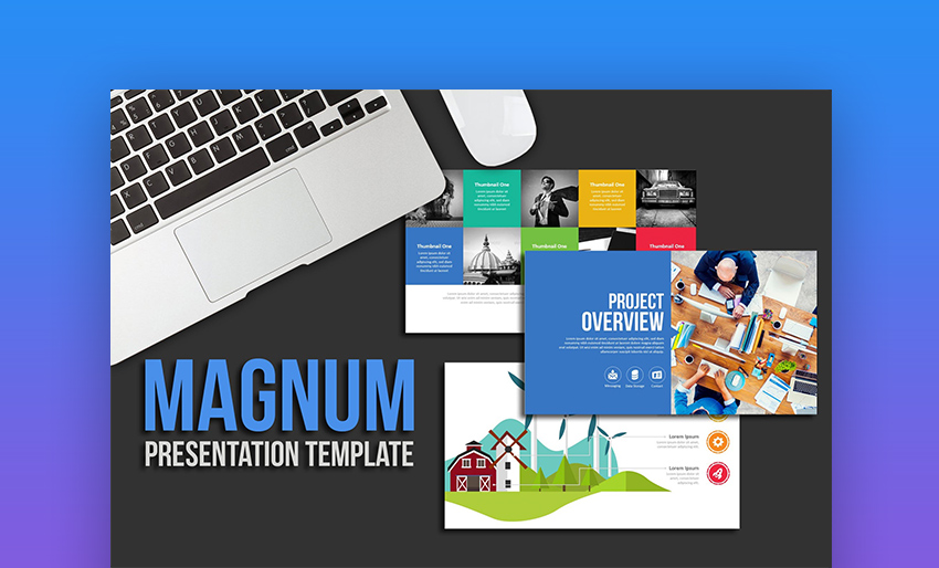 Magnum Cool PowerPoint templates