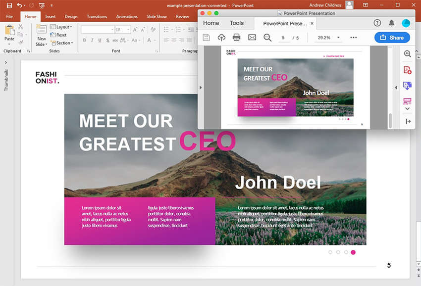 How To Convert & Insert A PDF To PowerPoint In 2019!