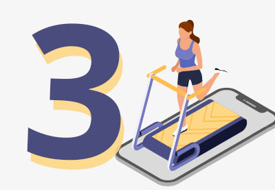 3 top fitness and exercise