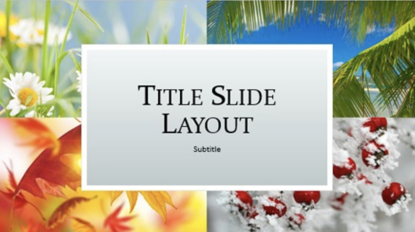 25 Best Free Nature Powerpoint Ppt Templates Spring Summer