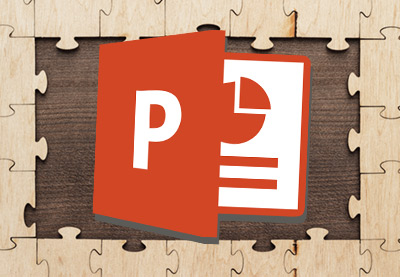 How to create puzzle pieces in powerpoint quickly