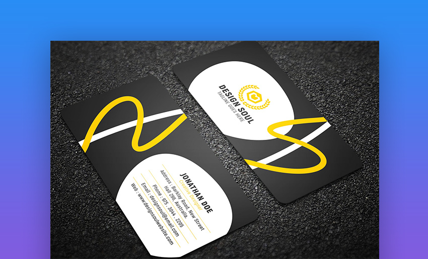 15 Best Free Photoshop Psd Business Card Templates