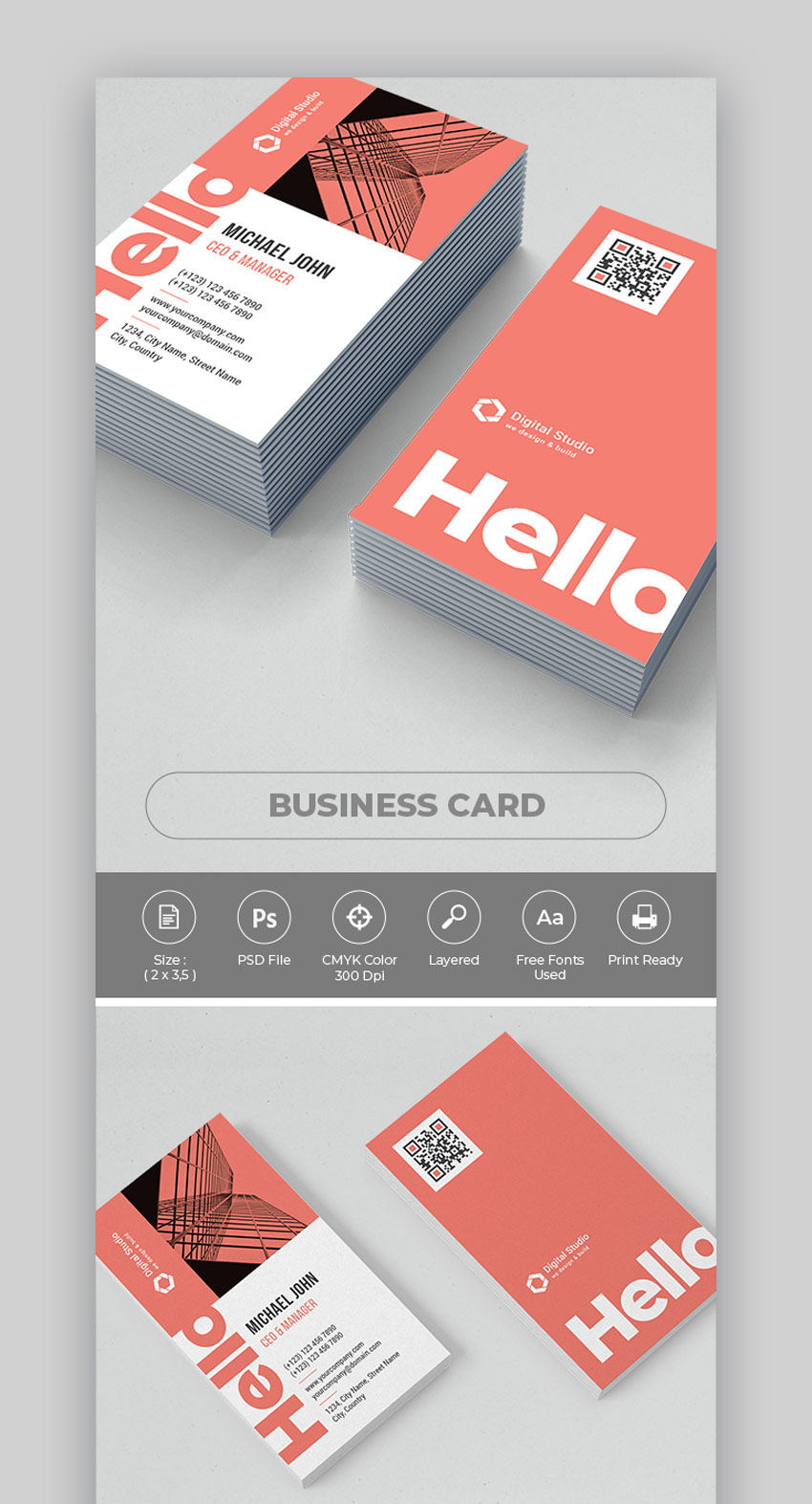 Business Card Photoshop