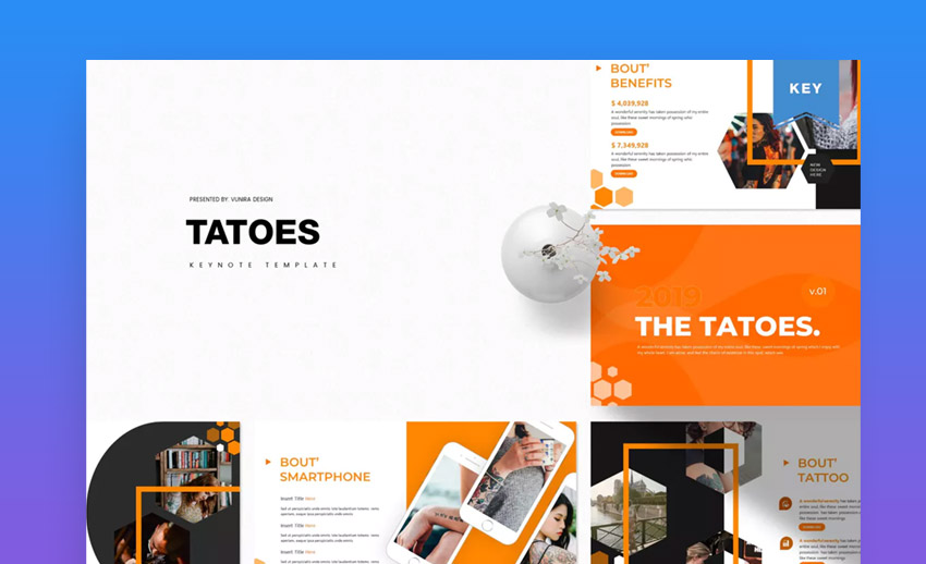 Tatoes Keynote Template