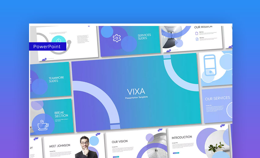 Vixa PowerPoint Template