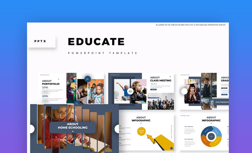 Educate PowerPoint Template