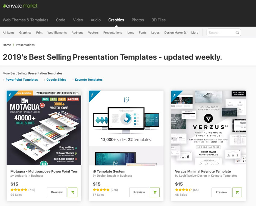 How to Make PPT templates with GraphicRiver