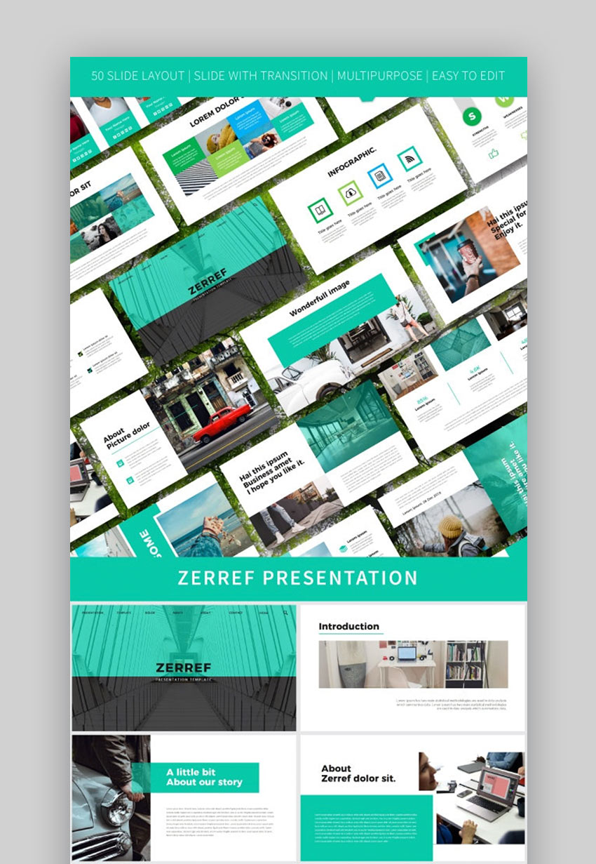Zerref Minimal PPT Templates