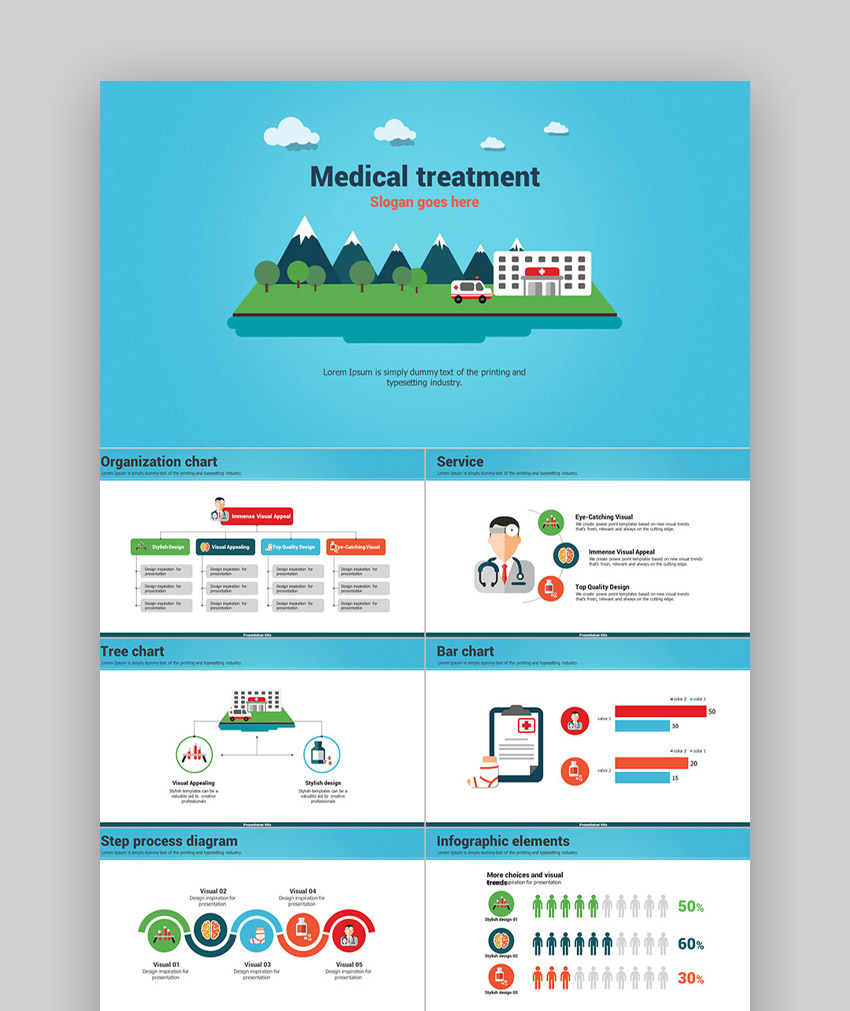 Healthcare PowerPoint templates