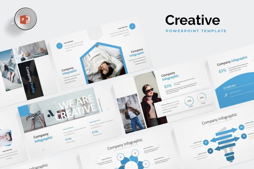 1 Escoge una Plantilla PPT Creativa