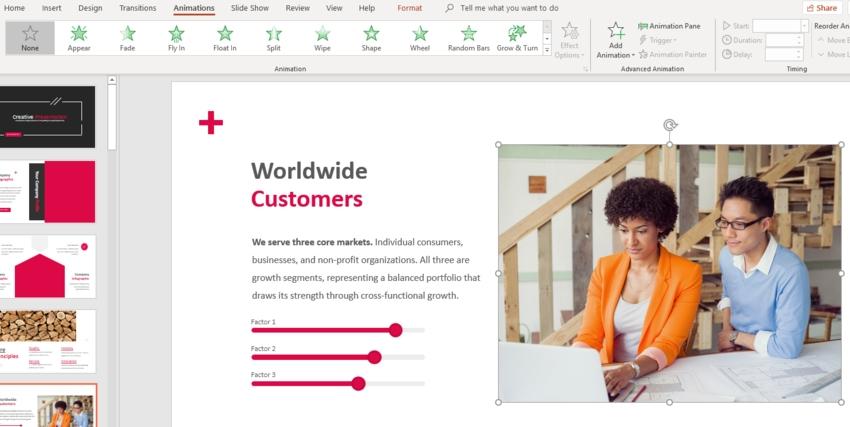 Plantilla PowerPoint Creativa