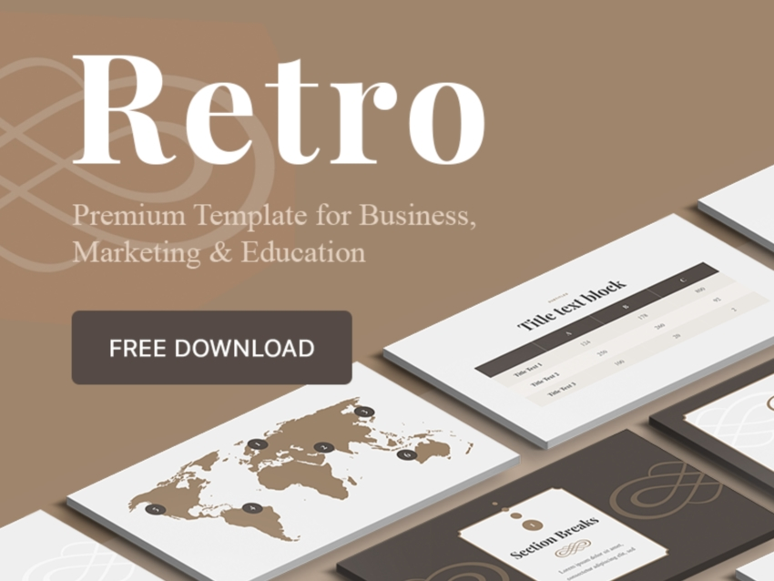 Keynote Infogrpahic Template Free