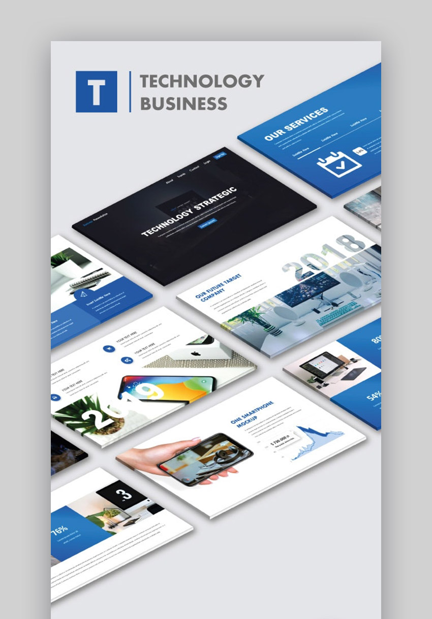 Technology Business PowerPoint Templates