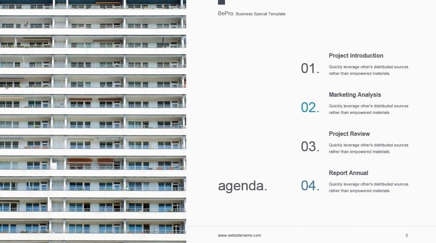 Mapa del Proyecto - Plantilla PowerPoint BePro