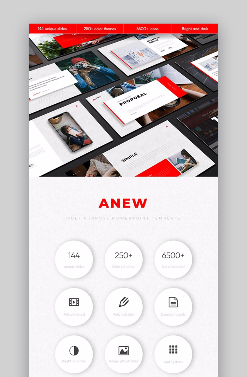 Anew Professional PPT Template
