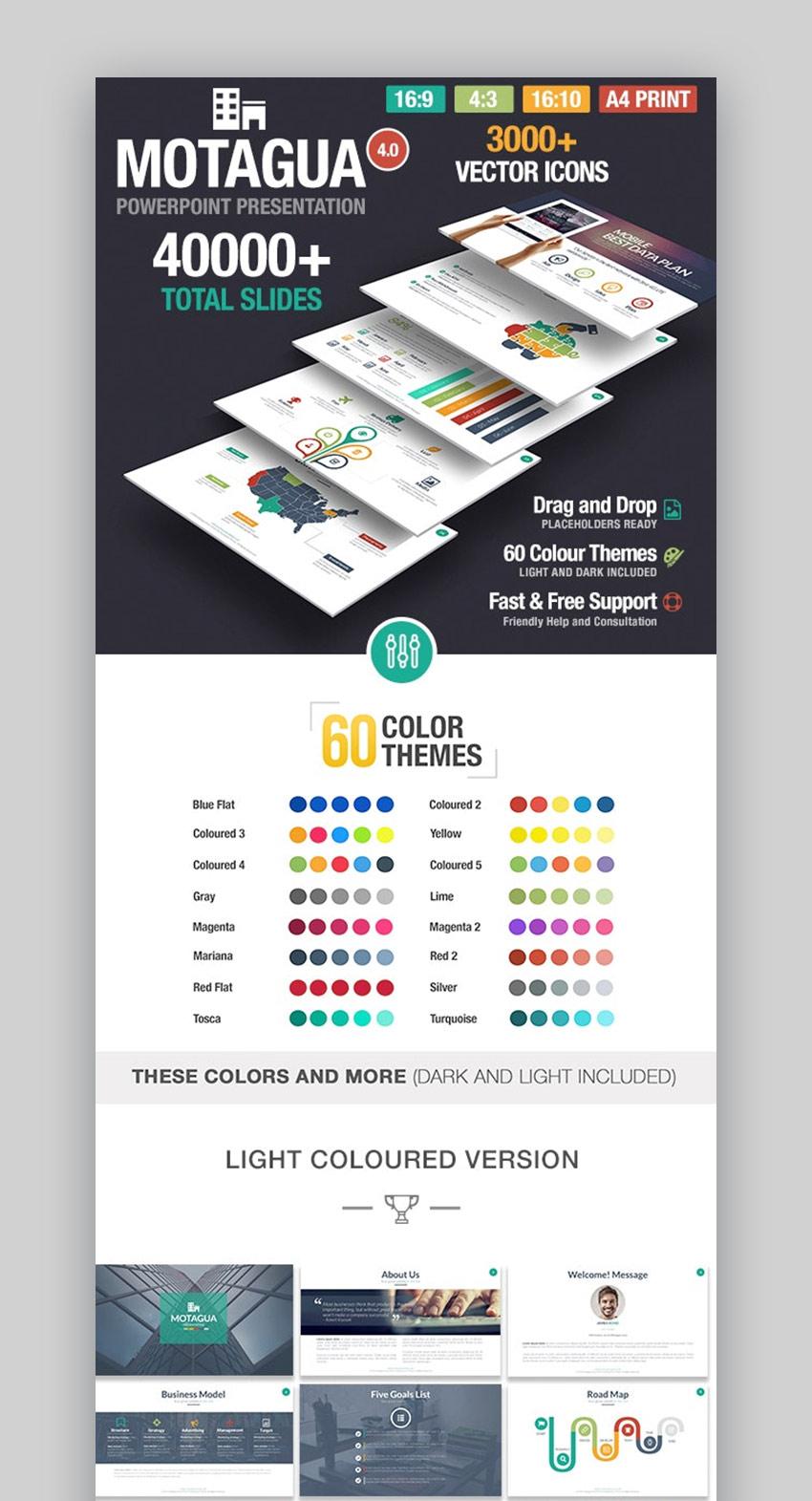 Motagua Best Designed PowerPoint