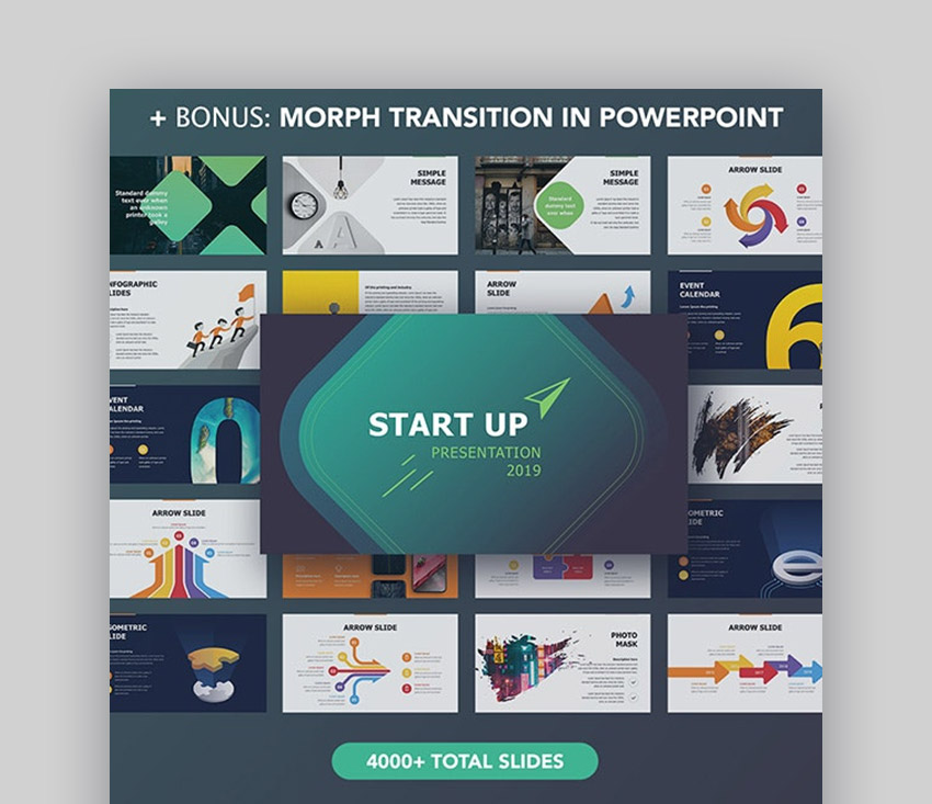 Good PPT Design for Startups