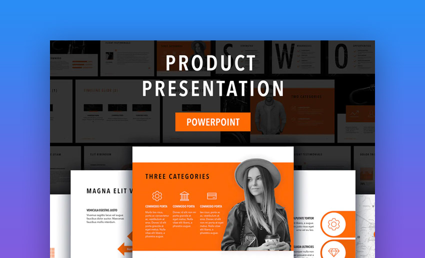 Sprint Best PowerPoint template