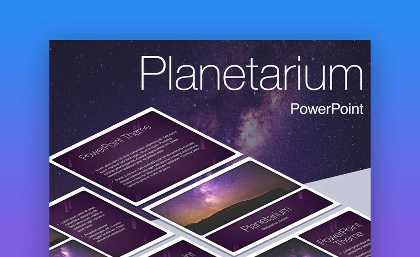 Space PowerPoint presentation