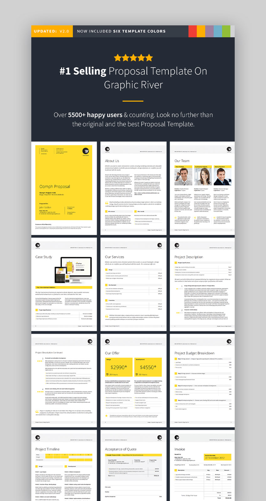 Proposal InDesign Layout Template