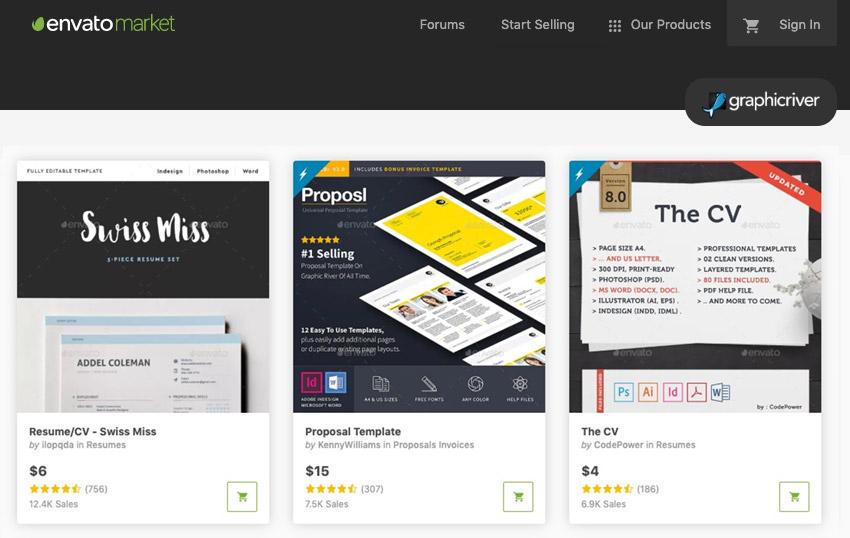 GraphicRiver Adobe InDesign templates