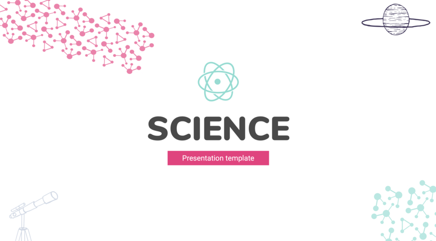 Free Science Google Slides theme