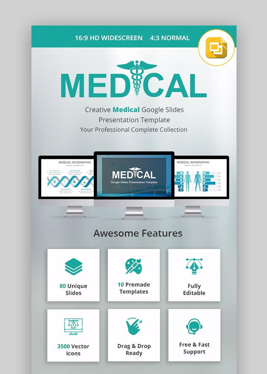 Medical Google Slides Themes