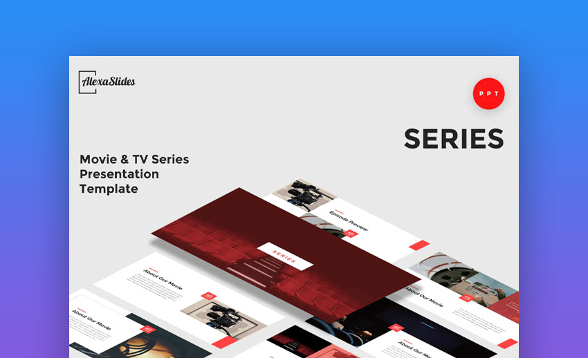 Series PowerPoint Presentation Template
