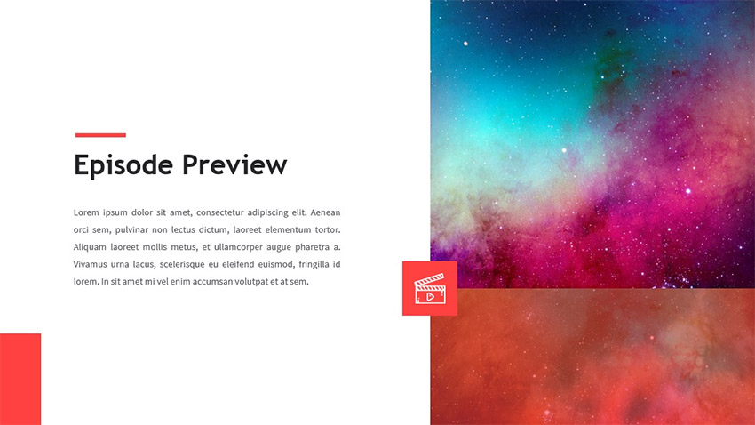 Series PowerPoint template