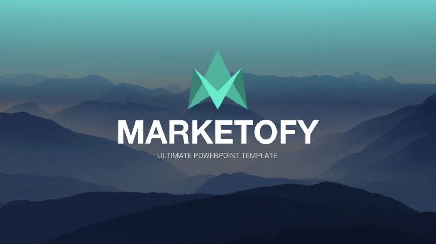 Marketofy PowerPoint template
