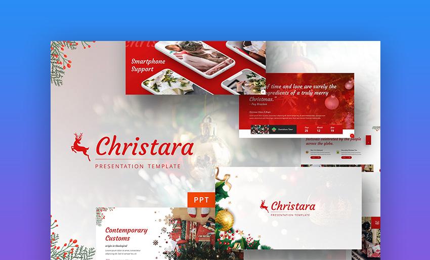 Christara - Xmas PowerPoint Template
