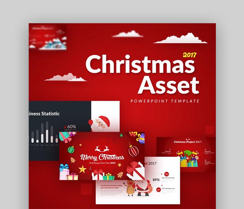 Christmas Asset PowerPoint Template